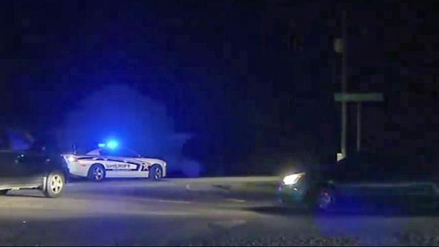 More than 1,000 homes were in the dark Sunday evening after a car crashed into a power pole in Raleigh.