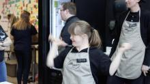 Bonus content: Coffee shop dance reel