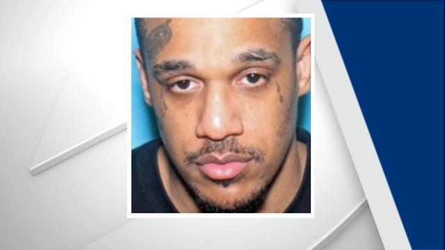 A manhunt was underway Monday night in Wayne County for a man wanted in connection with several crimes, including a Sunday night homicide.