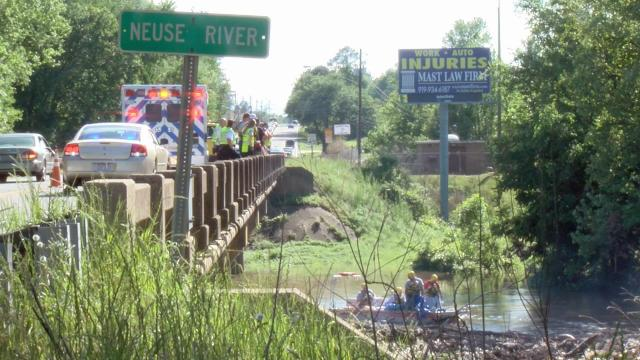 A body was pulled from the Neuse River in Johnston County Tuesday afternoon.