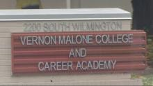 Vernon Malone Career and College Academy closes due to flooding