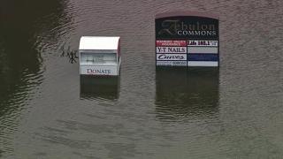 Sky 5 tours flooding in Zebulon