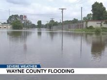 Wayne County flooding: April 28, 2017