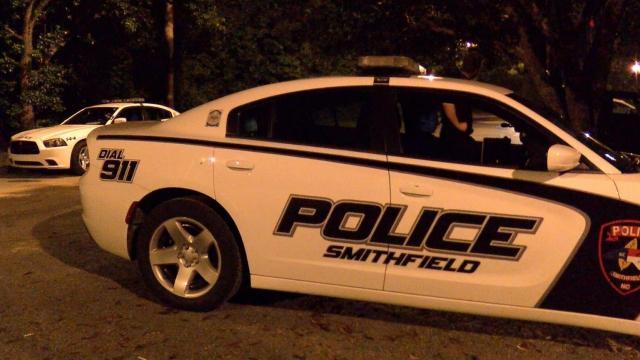 Smithfield Police Department patrol car