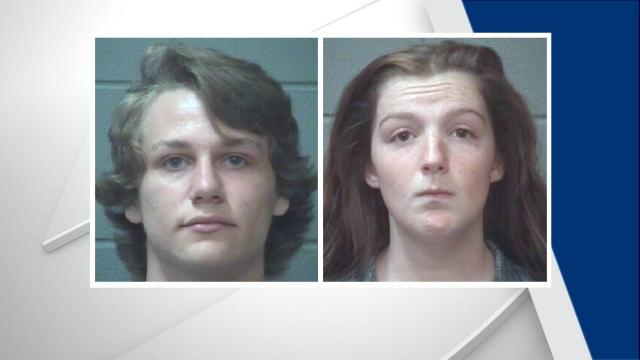 Brian Joshua Anderson (left) and Brittney Renee Luckenbaugh are each charged with misdemeanor disclosures of private images, according to the Onslow County Sheriff's Office.