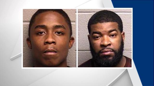 Elijah Hosea Everett, left, and Mychal Quinton Todd Mercer