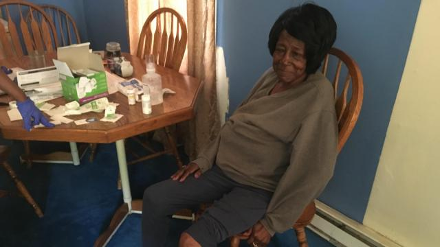 66-year-old Fayetteville woman attacked by pit bulls