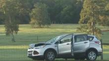 IMAGES: Pedestrian dies in crash on Louisburg Road in Raleigh