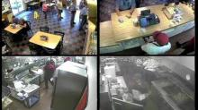Full video: Surveillance video shows alleged vulgar incident at Raleigh BBQ restaurant