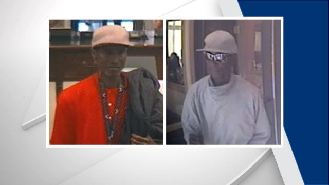 The FBI is trying to identify a man believed to be responsible for five bank robberies in North Carolina in less than three weeks.