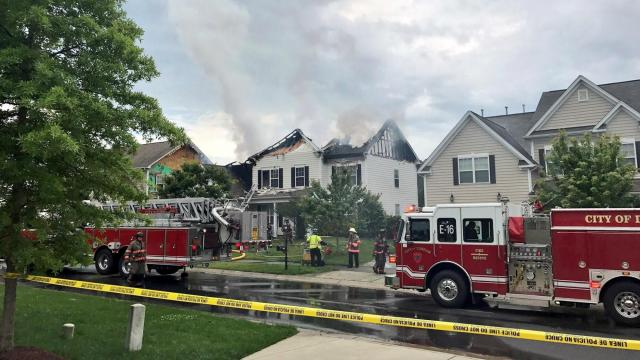 Report Ashes In Yard Waste Sparked Durham House Fire Wral Com