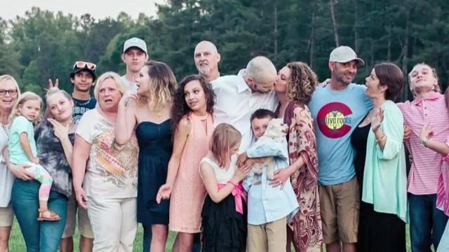 Ray Burrow and family