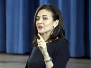 Facebook executive Sheryl Sandberg