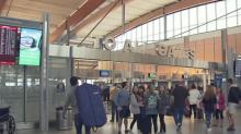 IMAGE: Passengers evacuate after false alarm at RDU