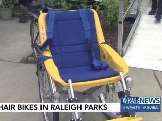 Tandem bikes bring joy, mobility to Raleigh people with disabilities