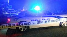 IMAGES: 23-year-old man found inside car dies from gunshot wound