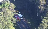 IMAGE: 36-year-old Raleigh man dies after driving off bridge into Apex creek