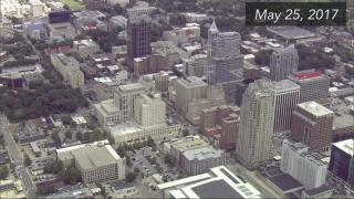 Sky 5 tours downtown Raleigh