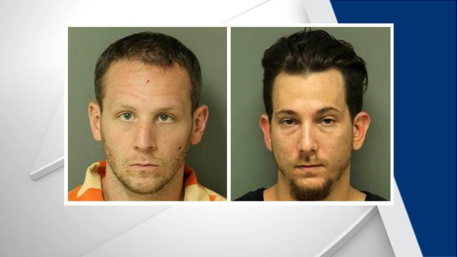 Kyle Robert Fedus, left, Zachary Mark Wohlman