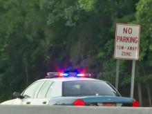2 injured in Raleigh crash, shooting