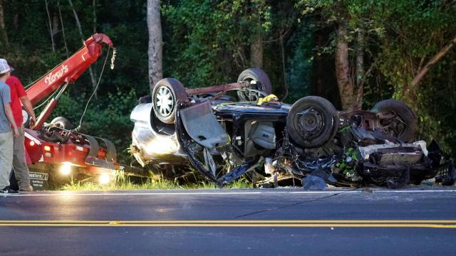 One person was killed Friday evening following a single vehicle crash on U.S. Highway 401 near Byrd Road in Harnett County.