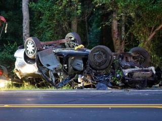 Driver killed, 4 injured in Harnett County crash
