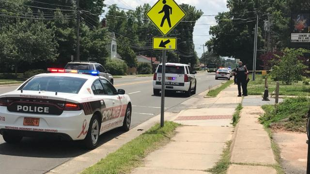 Somebody shot a gun during an incident Saturday afternoon near the campus of North Carolina Central University in Durham, police said.