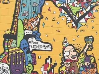 Wilson cracks down on bar's outdoor mural
