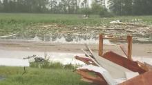 Numerous homes damaged, 14 injured in Sampson storms