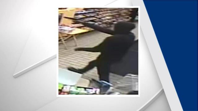 Police search for Fayetteville convenience store robber