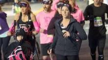 IMAGE: Inspirational mom, daughter compete in Ironman Triathlon