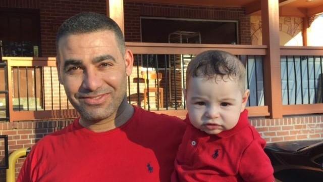 Mosa Hamadeesa and his son