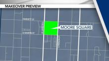 IMAGE: Moore Square construction continues while keeping city's homeless in mind