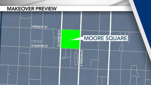City of Raleigh plans Moore Square upgrade to begin in September