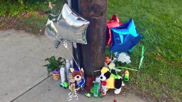 Vigil honors slain Durham 7-year-old