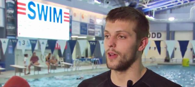Olympian, double amputee swim to raise money for cancer research