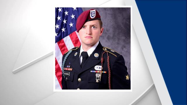 A Fort Bragg paratrooper was killed Saturday in an off-duty vehicle crash in Hoke County.