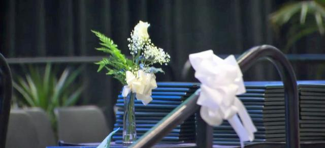 Moment of silence at graduation honors deceased Enloe HS student
