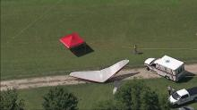 IMAGES: Raleigh grandfather killed after ultralight crash in Harnett County