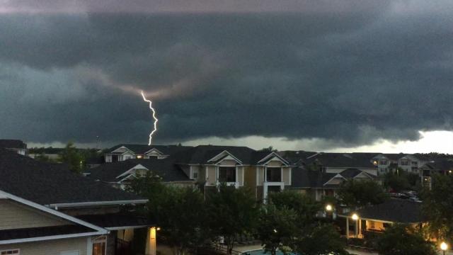 Thunderstorm in Garner