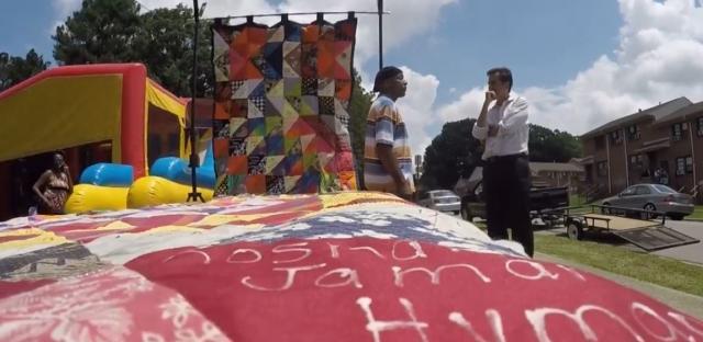Quilt memorializes Durham violent crime victims