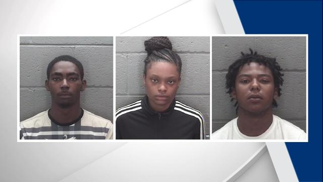Kahdeem Na'kie Hinnant, 18, of Rocky Mount, and Tanesha Tarig Hardy, 19, of Raleigh, both face charges of first-degree murder. Garrett Jovante Batchelor, 17, of Rocky Mount, faces a charge of accessory after the fact.