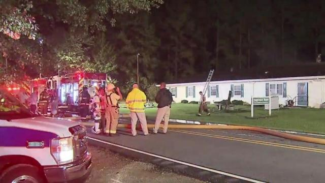 Fire at Angier assisted living center displaces 31