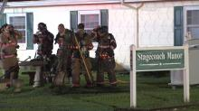 IMAGES: Fire at Angier assisted living center displaces 31
