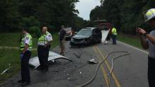 IMAGES: Authorities: Driver's ed students, teacher injured in crash