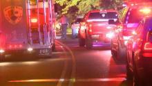 IMAGES: 2 dead in fiery, single-car wreck near Smithfield