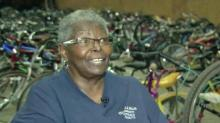 Bicycle Man's widow tries to prevent scammers from soliciting money