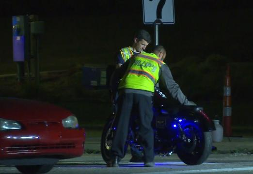 Motorcyclist in critical condition after crashing into car in Fayetteville