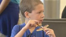 Children with autism spread their wings with practice flight at RDU