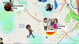 Snapchat's new Snap Map causes concern for parents